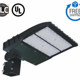 LED AREA LIGHT LS Series 150W DLC Listed