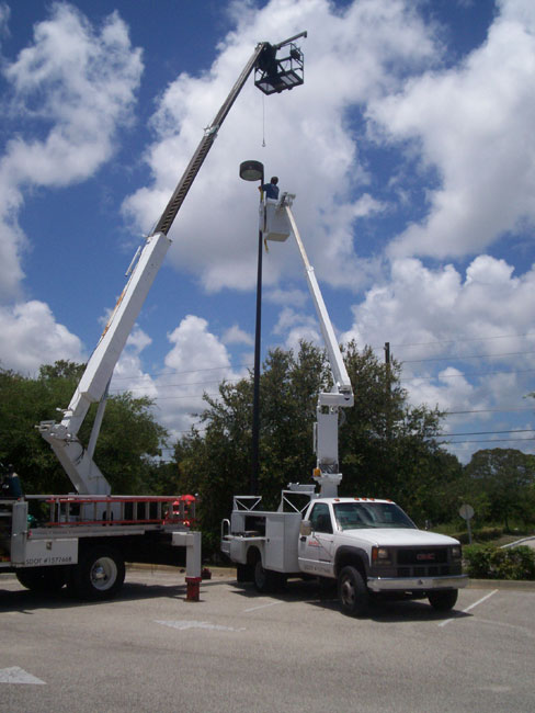 get parking area lighting services